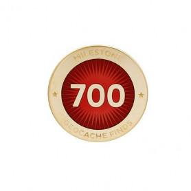 Milestone Pin - 700 Finds