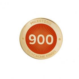 Milestone Pin - 900 Finds