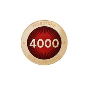 Milestone Pin - 4000 Finds