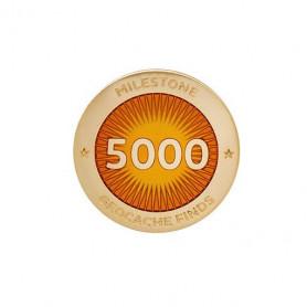 Milestone Pin - 5000 Finds