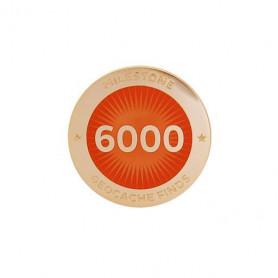 Milestone Pin - 6000 Finds
