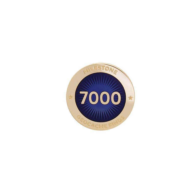 Milestone Pin - 7000 Finds