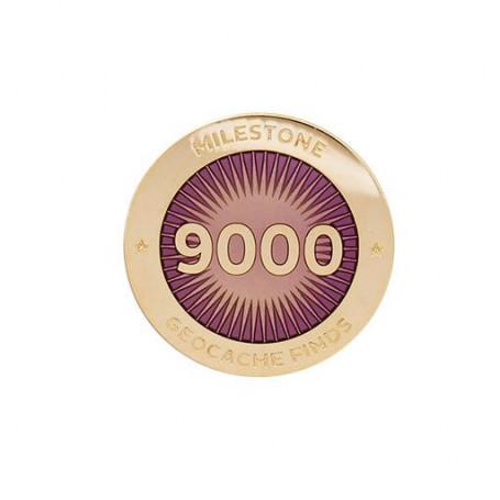 Milestone Pin - 9000 Finds