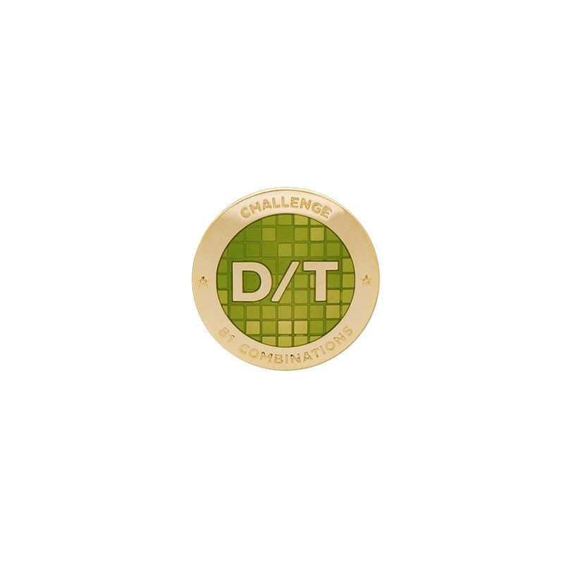 Challenge Pin - D/T Grid