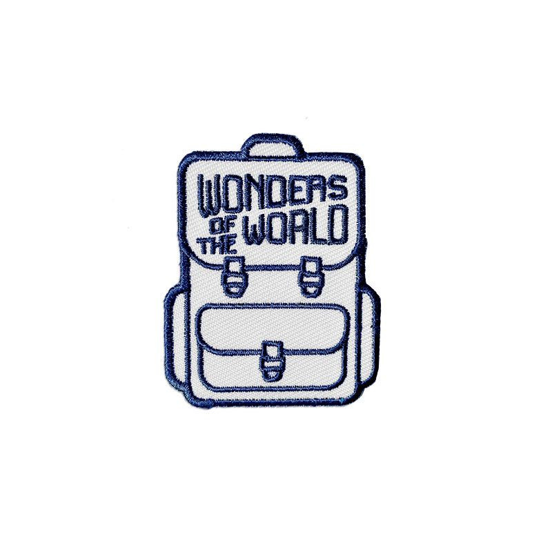 Wonders of the World badge