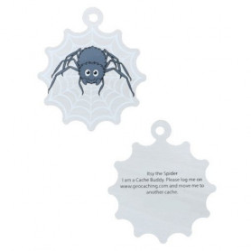 Halloween - Itsy the spider travel tag