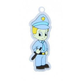 Peter the Policeman Travel Tag