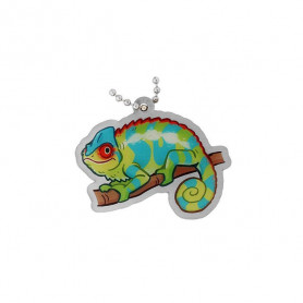 Geopets travel tag - Chameleon