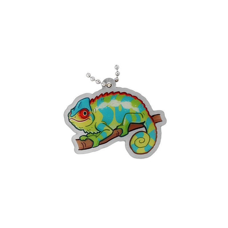 Geopets travel tag - Chameleon