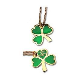 St. Patrick's Day Geocoin Pendant