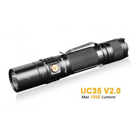 Fenix UC35 V2.0 rechargeable flashlight