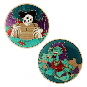 2020 Pirate Geocoin - Siren Song