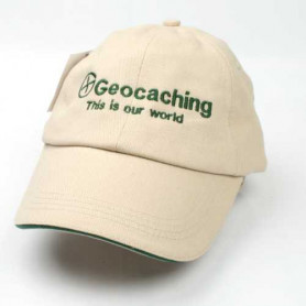 Hat, Geocaching this is our world, creme