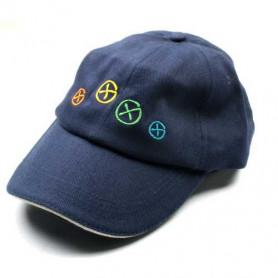 Hat, Geocaching, blue