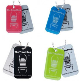 4 x QR Travel Bug®