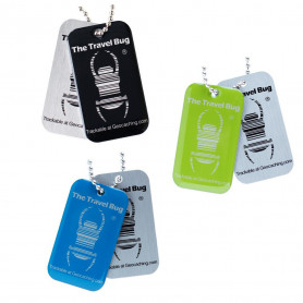 3 x QR Travel Bug®