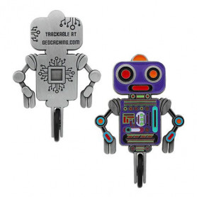 Unicycle Robot Geocoin