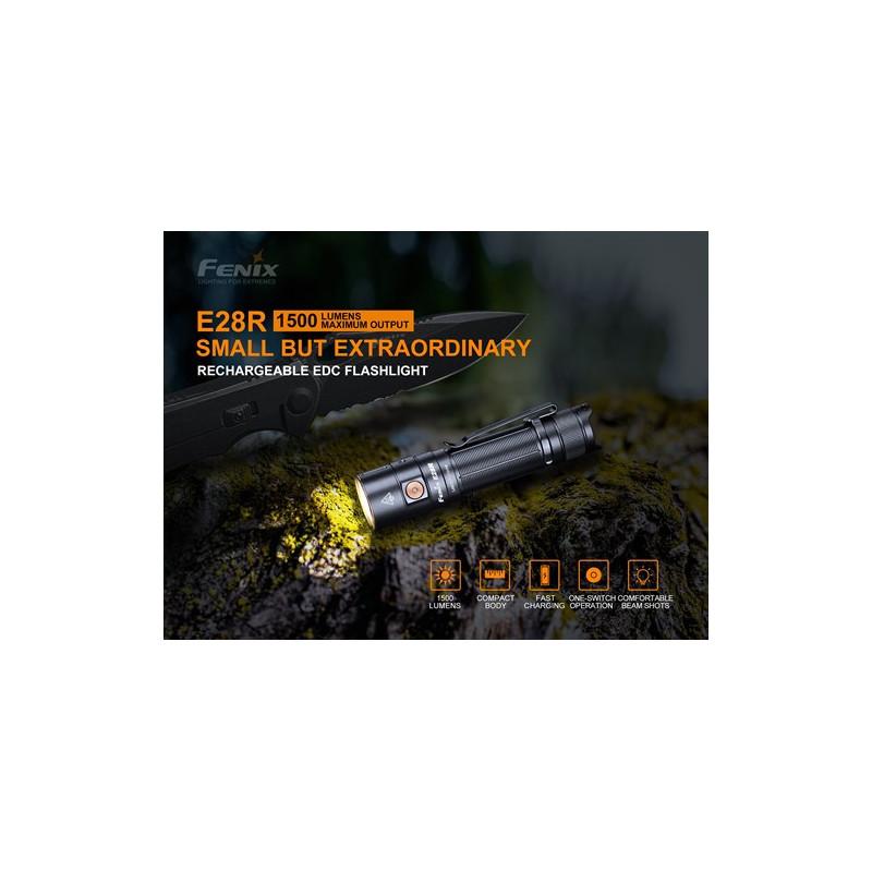 Fenix E28R - 1500 Lumen