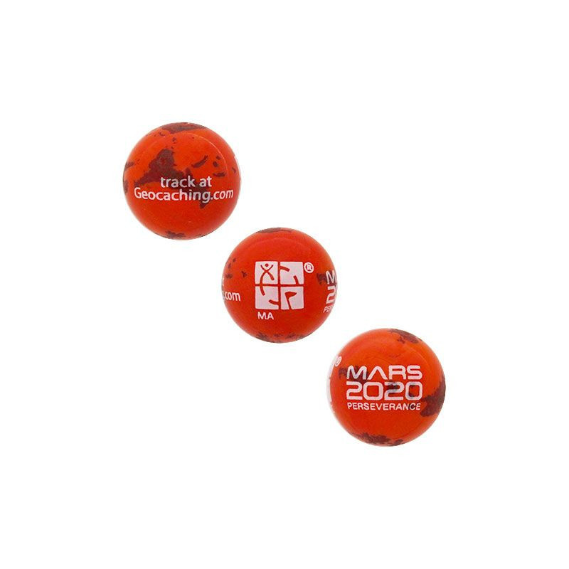 Trackable Mars Rover Perseverance Marble