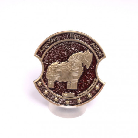 Troy Geocoin Antique Bronze