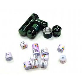 Set of 10x nano container camo + 10x nano logroll