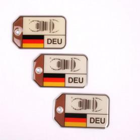 set 3x Travel Bug origins - Germany - V2