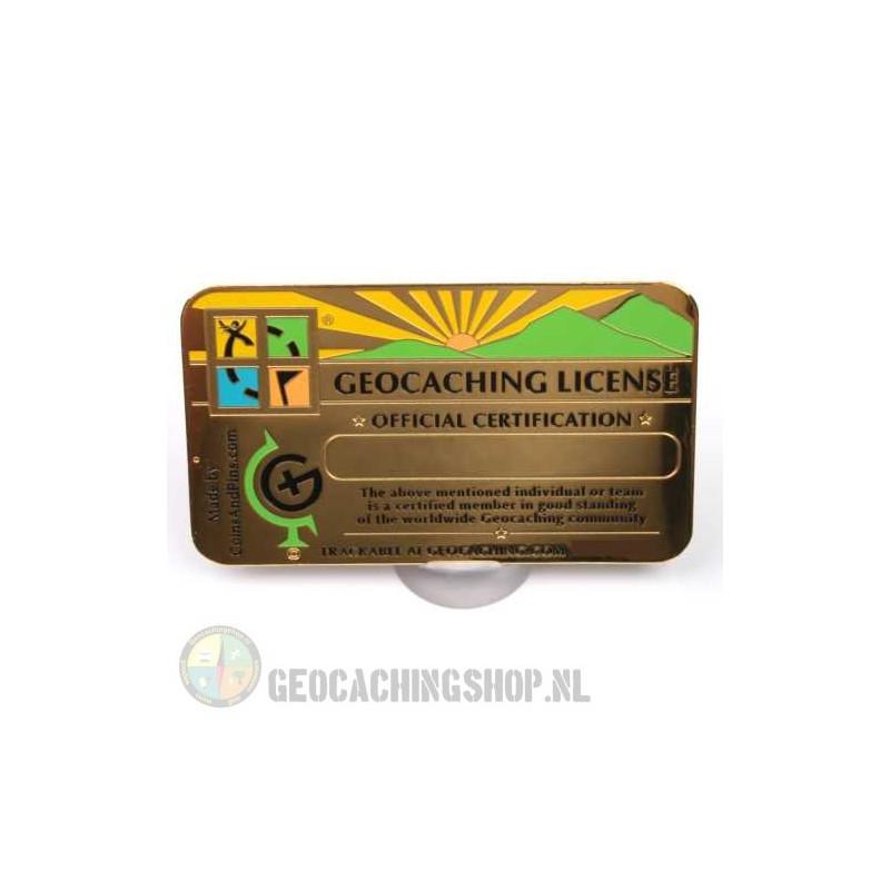 Geocaching License, Golden