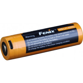 Fenix 21700 accu - 5000 mAh USB
