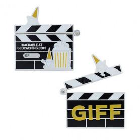 2021 GIFF Geocoin and companion Tag set