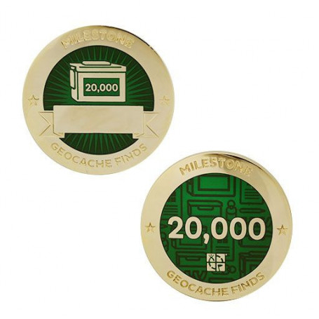Finds - 20.000 Finds Milestone set