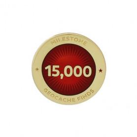 Milestone Pin - 15.000 Finds