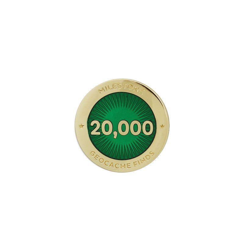 Milestone Pin - 20.000 Finds