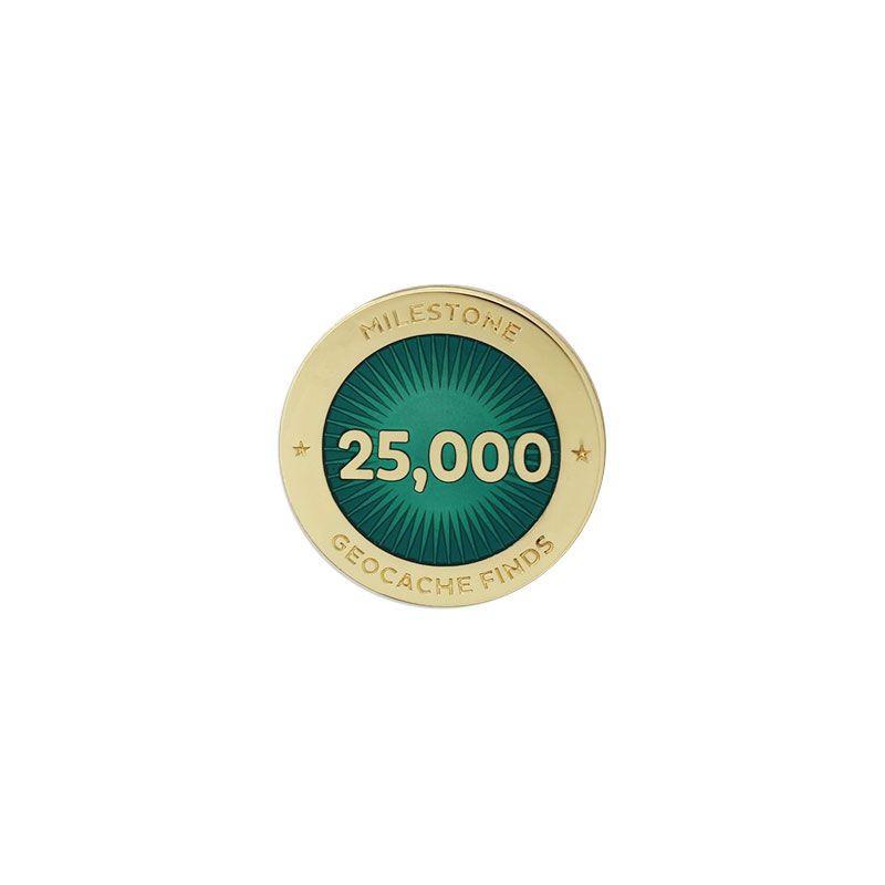 Milestone Pin - 25.000 Finds