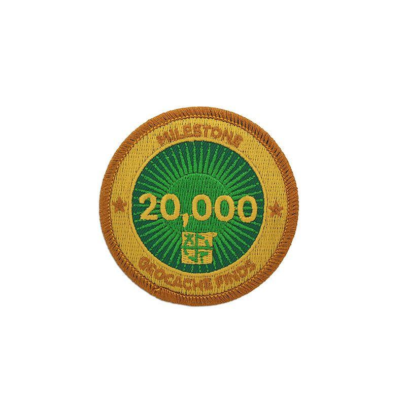 Milestone Badge - 20.000 Finds
