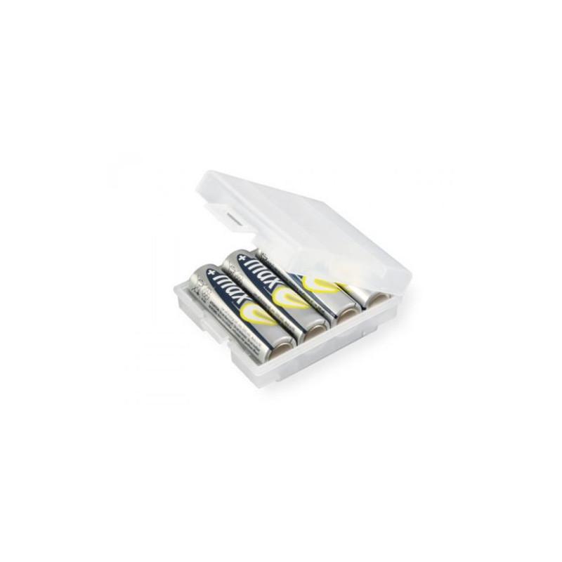 batterij houder voor 4 AA batterijen