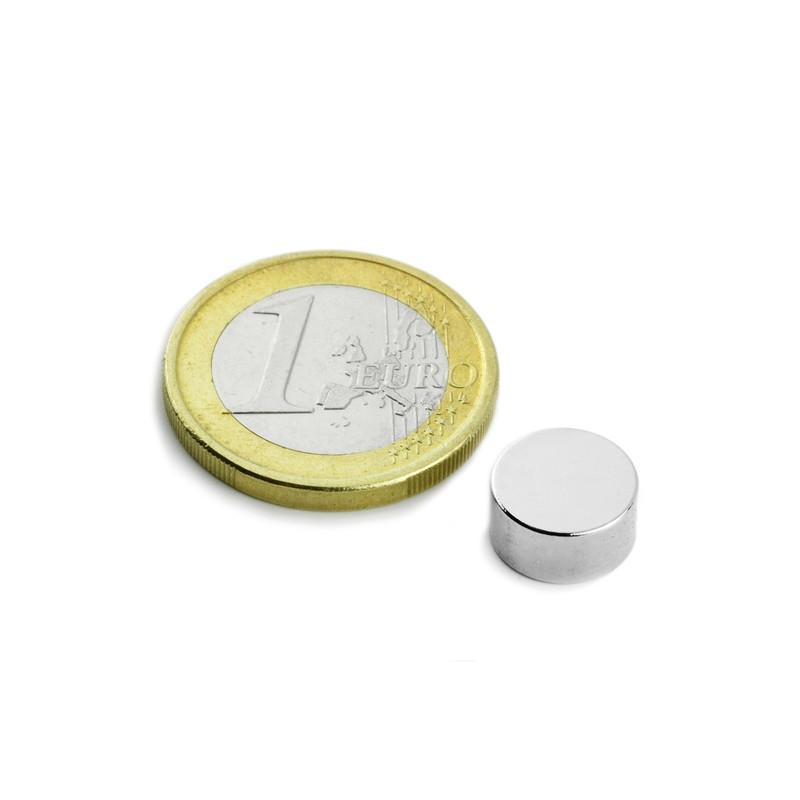 5 pieces 10 mm Round x 5 mm Neodym Magnets