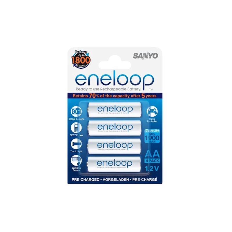 Eneloop AA 2000mAh 4 pack