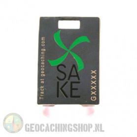 SAKE 2012 geocoin - Silver - LE