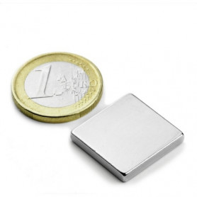 5 stück 20 mm x 20 mm x 3 mm Neodym Magnete