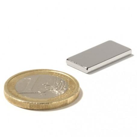 5 stuks 20 mm x 10 mm x 2 mm Neodym Magneten