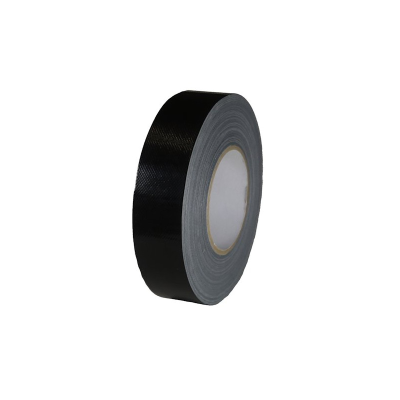 Pantser tape - zwart - 38 mm breed x 50 m