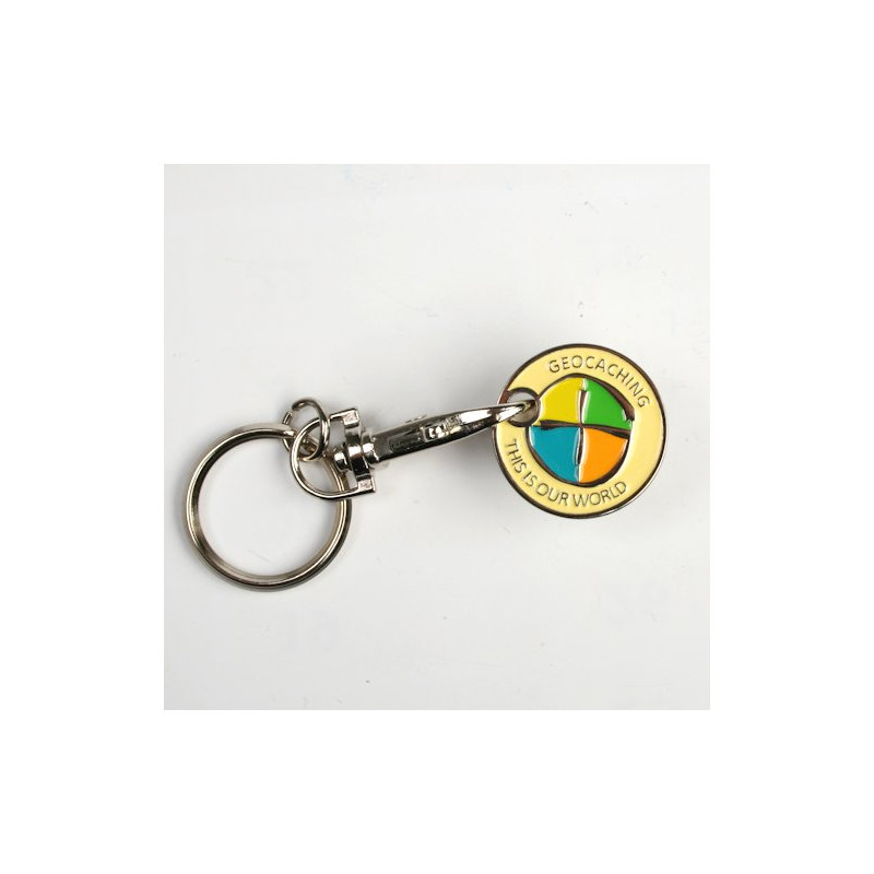 Geocaching - Trolley coin
