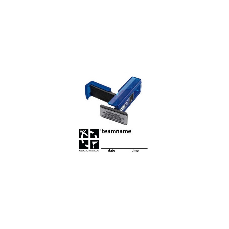 Log Stamp - Pocket - Groundspeak logo