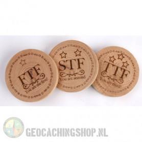 Woodies - FTF, STF, TTF set (3 pcs)