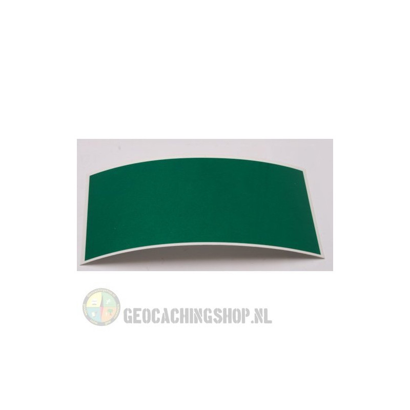 Reflector Foil 100 mm x 50 mm Green