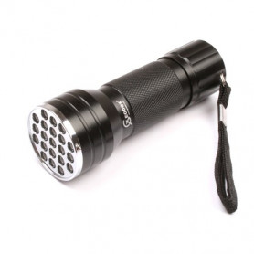 UV flashlight 21 LED black
