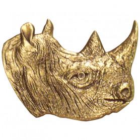 Rhinoceros - Antiek Brons
