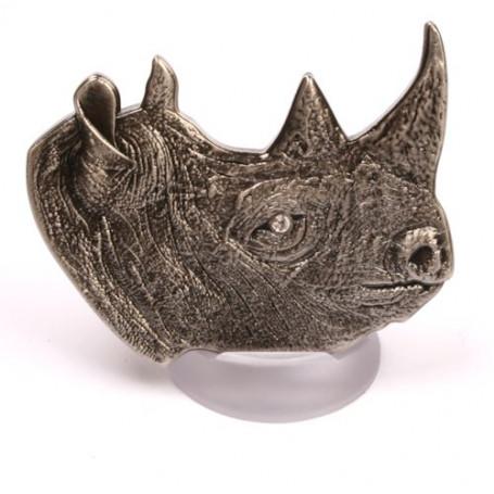 Rhinoceros - Antique Nickel