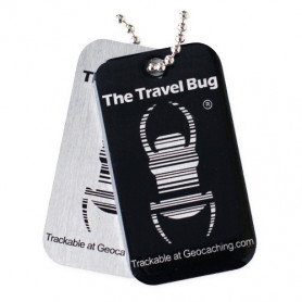 QR Travel Bug® - Black