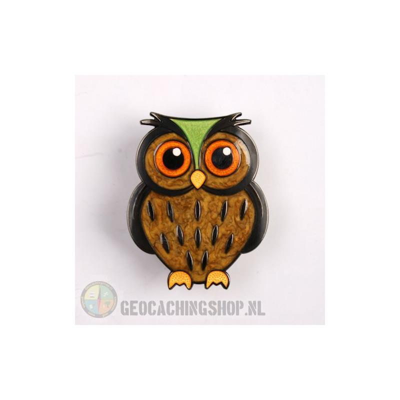 Owl Geocoin - Eagle-owl